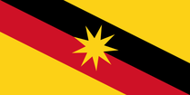 Flag of Sarawak - Today