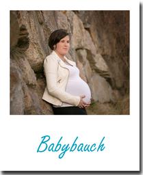 Babybauch Schwangerschaft Milchbad Blütenmeer