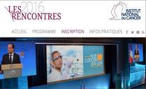 rencontres INCa 2016 LMC FRANCE CANCER MARISOL TOURAINE