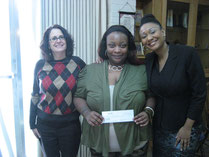 Lifting Loan recipient Winter Johnson