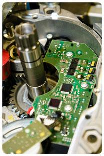 Endmontage des Bosch Performance Line e-MTB Motors