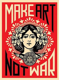 Shepatd Fairey Make Art