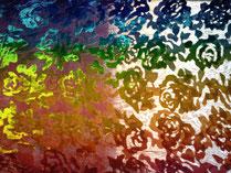 Regenbogenfarben Tuch / Credit: Ursulai Frauchiger