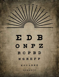 Un cas de cataracte, consultation à la clinique du Dr Bates - association l'art de voir, methode bates en france
