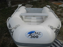 gommone z-ray 300
