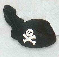 Piratenkappe, Piratenhut, Hut Pirat