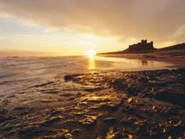 Sunrise in Northumberland
