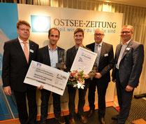 """morewind ausgezeichnet für """"Interessante Gründerstory"""" beim 12. OZ-Existenzgründerpreis"""