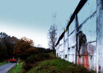 Mauerrest bei Görsdorf