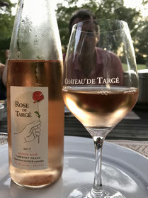 Domaine de Joreau - Chambres und Tables d'hôtes bei Saumur, Loiretal : unsere Weinempfehlung lautet Rosé de Loire oder Saumur-Champigny von Domaine de Nerleux oder Chateau de Targé