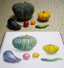植物/静物画コースの写真