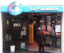 Ла Парадета - ресторан морепродуктов в Барселоне