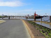 Der Hafen von Cuxhaven
