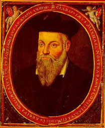 Nostradamus. (Source : Wikipedia)