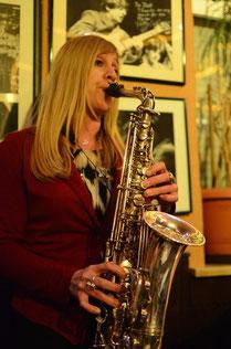 Jazzentiell - Thyra Templiner - Altsaxofon (Foto: Dietmar Liehr)
