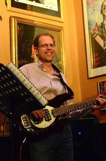 Jazzentiell - Andreas Scharf - Bass (Foto: Dietmar Liehr)