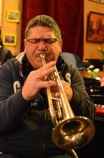 Jazzentiell - Wolfgang Weber - Trompete, Flügelhorn (Foto: Dietmar Liehr)