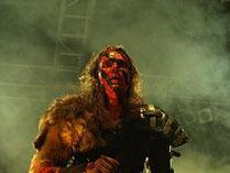 Mathias Nygård, Sänger der Band Turisas, Bild: Cecil