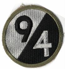 Insigne de la 94° DI US