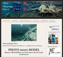 Model Aquagraphy