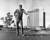 Dean Martin spielte den Platz täglich in den Sixties