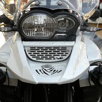 Ölkühlerschutz, Ölkühlerblende für BMW R1200GS + Adventure