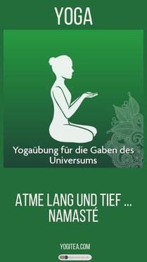Yogaübung für die Gaben des Universums - Yoga yogitea.com