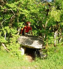 Dolmen,Joncas,Dolmen de joncas,gr65,Limogne en Quercy