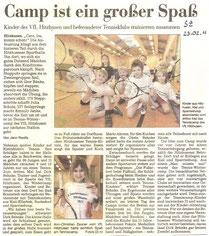 Segeberger Zeitung, 23. Februar 2011
