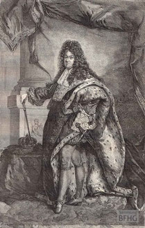 IMA.19.052 Ludwig XIV. (1638-1715) (Holzstich, ND [vrmtl. 1865]) / © Sammlung BFHG