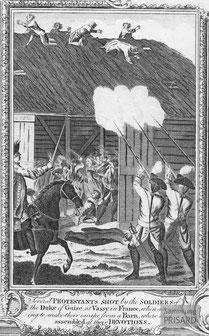 IMA.18.012 Massaker von Wassy (Kupferstich, 1780) / © Sammlung PRISARD
