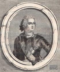 IMA.19.053 Ludwig XV. (1710-1774) (Holzstich, ND [vrmtl. 1865]) / © Sammlung BFHG