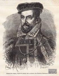 IMA.19.045 Gaspard II. de Coligny »Admiral Coligny«, 1519-1572) (Holzstich, ND [vrmtl. 1865]) / © Sammlung BFHG