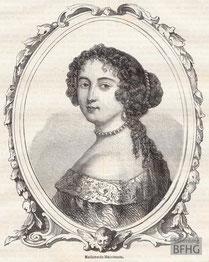 IMA.19.055 Madame de Maintenon (1635-1719) (Holzstich, ND [vrmtl. 1865]) / © Sammlung BFHG