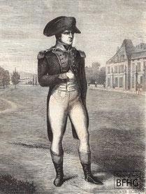 IMA.19.028 Napoleon Bonaparte (1769-1821) (Holzstich, ND [vrmtl. 1865]) / © Sammlung BFHG