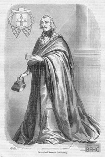 IMA.19.056 Jules Mazarin (1602-1661) (Holzstich, ND [vrmtl. 1865]) / © Sammlung BFHG