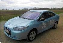 Renault Fluence Z.E.: Das neue Euromobil!