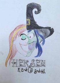 tekening van jasmijn uit cast 4