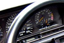 190E EVO1 AMG PP 300Km/h速度計