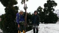 大辻山(1,436m)山頂