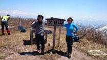 大日山(1,368m)サイコー!!!!