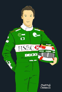 Andre Lotterer by Muneta & Cerracín