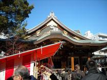 湯島神社@梅まつり