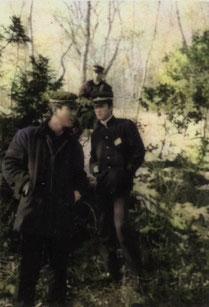 「粋で華やかに」 三嶋神社の岬で卒業間際