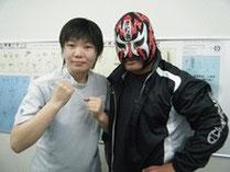 マグニチュード岸和田選手