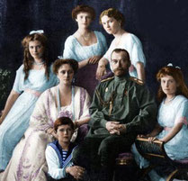 La familia real de los Romanov