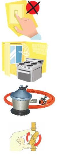 Pasos a seguir si detectas una fuga de gas en tu vivienda
