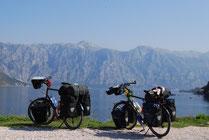Album photos monténégro, voyage à vélo