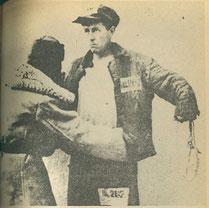 """Alexandre Soljenitsyne au Goulag (photo illustrant """"L'archipel du Goulag"""", DR)."""