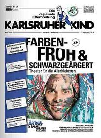 Titelseite - Karlsruher Kind - Die regionale Elternzeitung April 2015